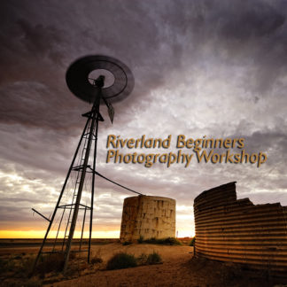 cover picture for excitations photo adventures Riverland Beginners Photography course